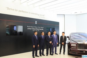 The team at Rolls-Royce Motor Cars Hanoi.